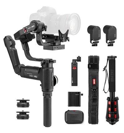 Stabilizzatore per fotocamere reflex e mirrorless – Gimbal Zhiyun Crane 3 Lab Creator – fotocamere fino a 4.5kg