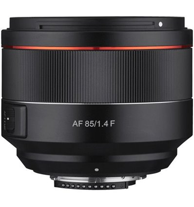 Obiettivo Samyang AF Autofocus 85mm F1.4 F per Nikon F