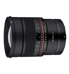Obiettivo Samyang MF 85mm F1.4 Manual Focus per mirrorless Nikon Z