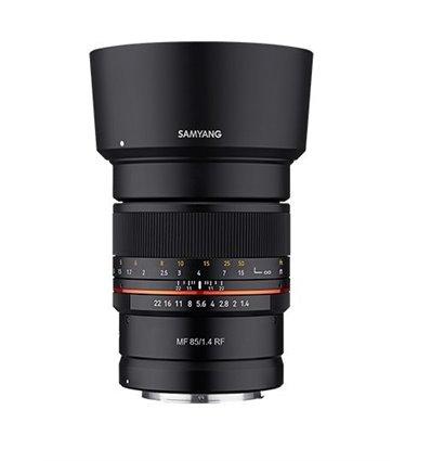 Obiettivo Samyang MF 85mm F1.4 Manual Focus per mirrorless Canon RF