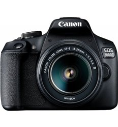 Fotocamera Canon EOS 2000D + 18-55mm DC III