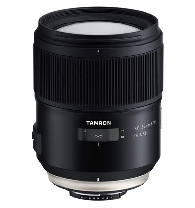 Obiettivo 35mm f1.4 – Tamron DI USD per Nikon