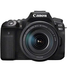 Fotocamera Canon EOS 90D Kit 18-135mm f3.5-5.6 IS USM