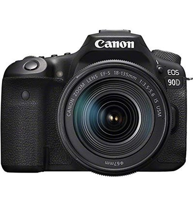 Canon EOS 90D – 18-55mm f3.5/5.6 Kit IS USM Fotocamera