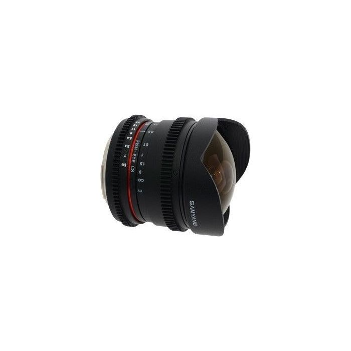 Obiettivo Samyang 8mm T3.8 Asph IF MC Fisheye CS VDSLR x Canon