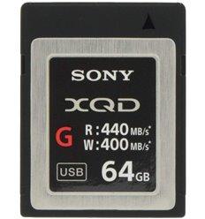 Sony Scheda XQD 64Gb Lettura 440mb/s - Scrittura 400mb/s