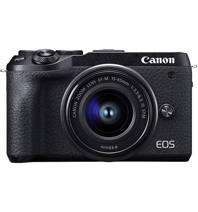 Fotocamera Mirroless Canon EOS M6 Mark II kit 15-45mm IS STM