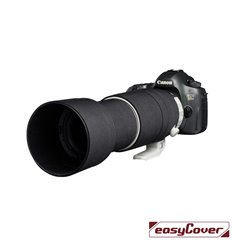 Easycover custodia in neoprene nero per obiettivo Canon 100-400mm F4.5-5.6L IS II USM V2 Lens Oak