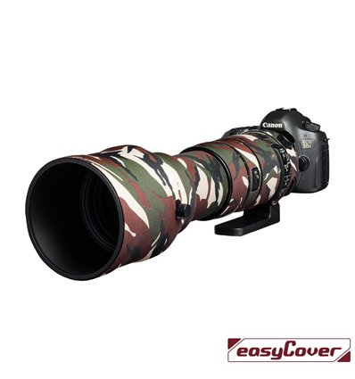 Easycover custodia in neoprene verde camo per obiettivo Sigma 150-600mm F5-6.3 DG OS HSM Sport Lens Oak