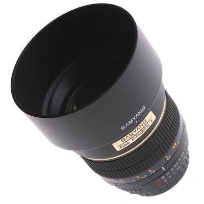 Obiettivo Samyang 85mm 85 f/1.4 Aspherical IF x Canon
