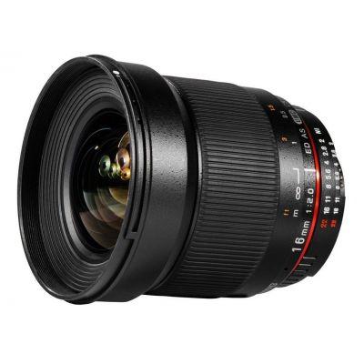 Obiettivo Samyang 16mm f/2.0 ED AS UMC CS x Canon Lens