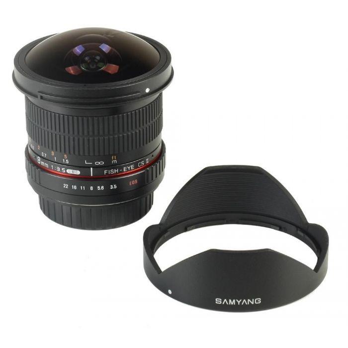 Obiettivo Samyang AE 8mm f/3.5 Fish-eye CS II x Nikon