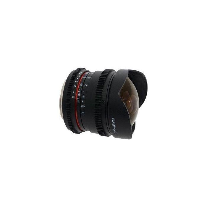 Obiettivo Samyang 8mm T3.8 Asph IF MC Fisheye CS VDSLR Nikon