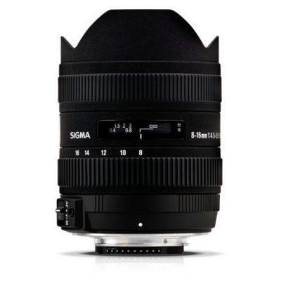 Obiettivo Sigma 8-16mm 8-16 mm F/4.5-5.6 DC HSM x Canon