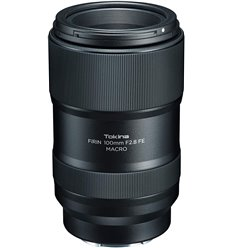 Obiettivo Tokina FiRIN 100mm f/2.8 FE Macro per Sony E-mount