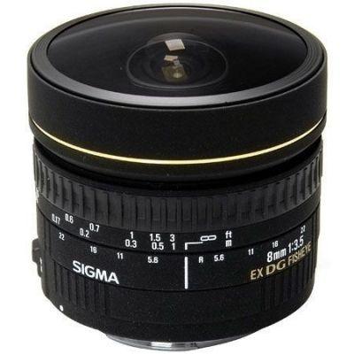 Obiettivo Sigma 8mm F3.5 EX DG Circular Fisheye X CANON