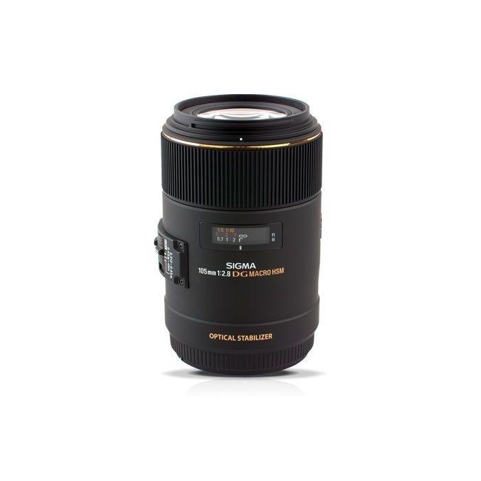 Obiettivo Sigma MACRO 105mm F2.8 EX DG OS HSM x Canon