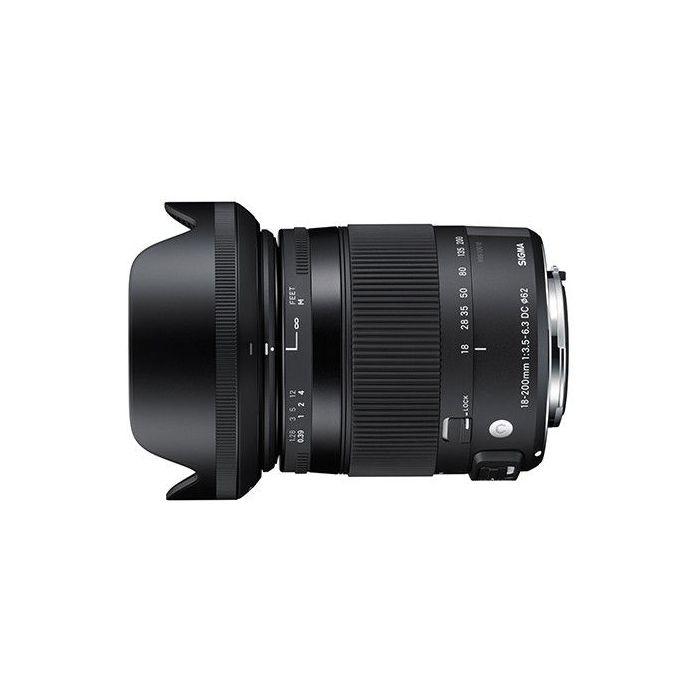 Obiettivo Sigma 18-200mm F3.5-6.3 DC Macro OS HSM Contemporary x Canon Lens 18-200