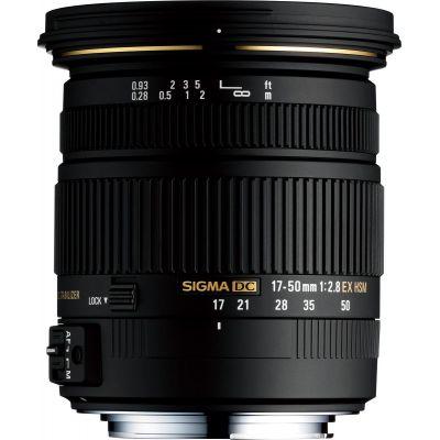 Obiettivo Sigma 17-50mm F/2.8 EX DC OS HSM Nikon 17-50 mm