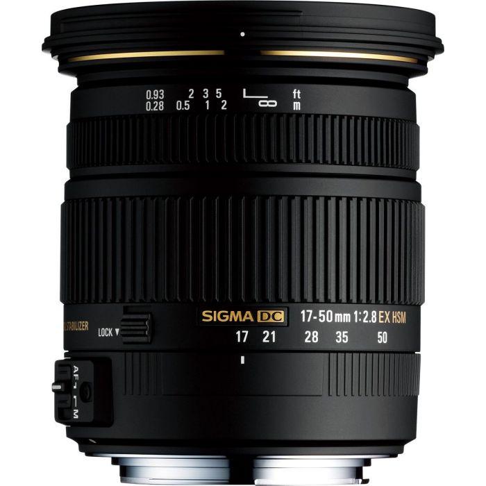 Obiettivo Sigma 17-50mm F/2.8 EX DC OS HSM - Nikon