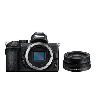 Fotocamera mirrorless Nikon Z50 Kit 16-50mm VR