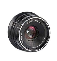 7Artisans 25mm F1.8 (Sony E) Black (A101B) obiettivo grandangolare