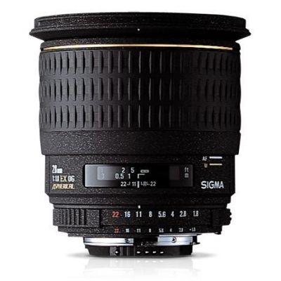Obiettivo Sigma 28mm F1.8 EX DG ASPHERICAL MACRO x Nikon Lens