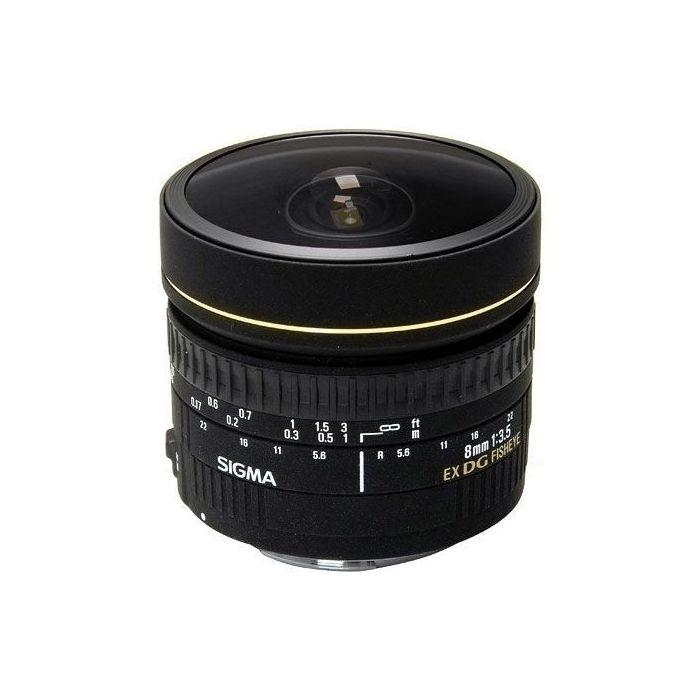Obiettivo Sigma 8mm F3.5 EX DG Circular Fisheye 8 mm X NIKON