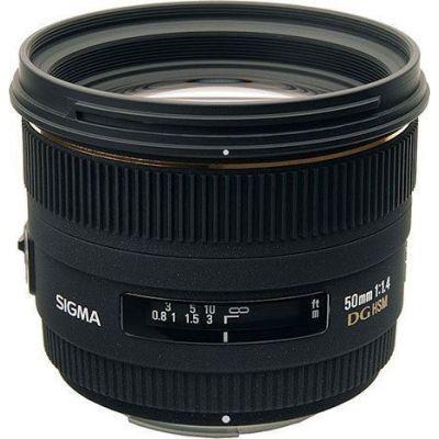 Obiettivo Sigma 50mm F1.4 EX DG HSM X Nikon