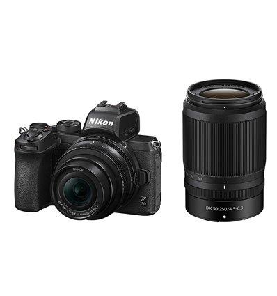 Fotocamera mirrorless Nikon Z50 Kit 16-50mm VR + 50-250mm VR [MENU ENG]