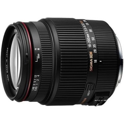 Obiettivo Sigma 18-200mm 18-200 F3.5-6.3 F/3.5-6.3 II DC OS HSM x Nikon Lens