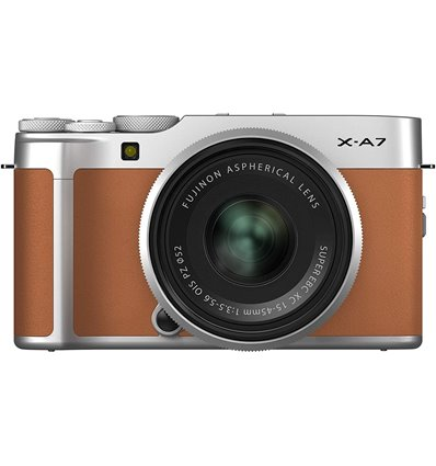 Fotocamera Mirrorless Fujifilm X-A7 Kit 15-45mm Marrone