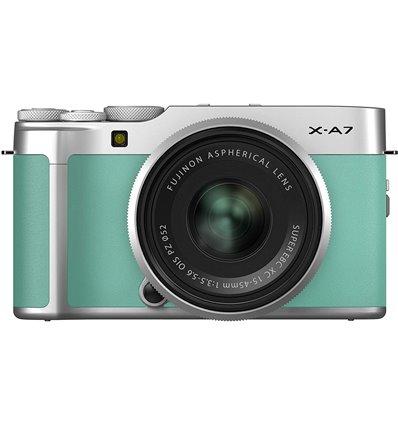Fotocamera Mirrorless Fujifilm X-A7 Kit 15-45mm Verde