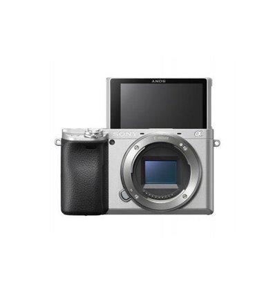 Fotocamera Sony Alpha a6400 Body Argento [MENU ENG]