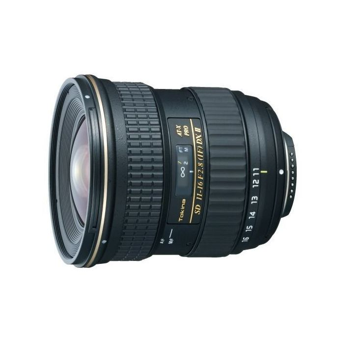 Obiettivo Tokina AT-X 116 PRO DX II 2 11-16mm 11-16 f/2.8 x Canon Lens
