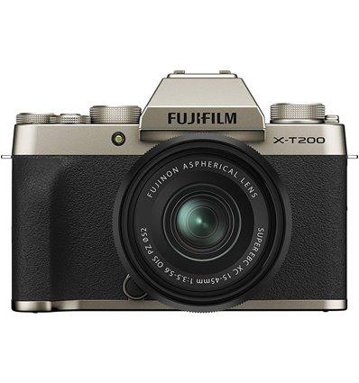Fotocamera Mirrorless Fujifilm X-T200 Kit 15-45mm Champagne Gold