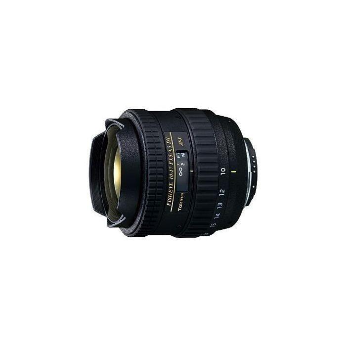 Obiettivo Tokina AT-X 107 AF DX 10-17mm per Nikon (no paraluce)