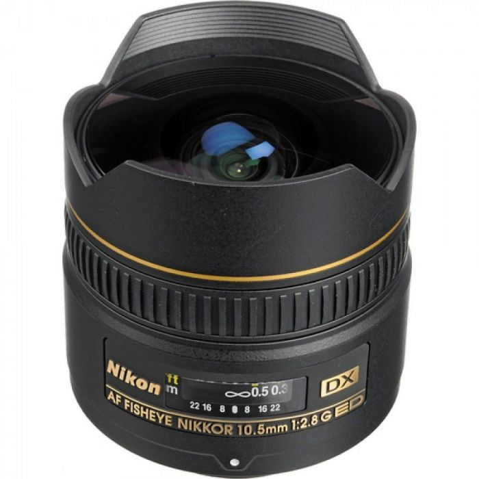 Obiettivo Nikon AF DX Fisheye-Nikkor 10.5mm f/2.8G ED Lens