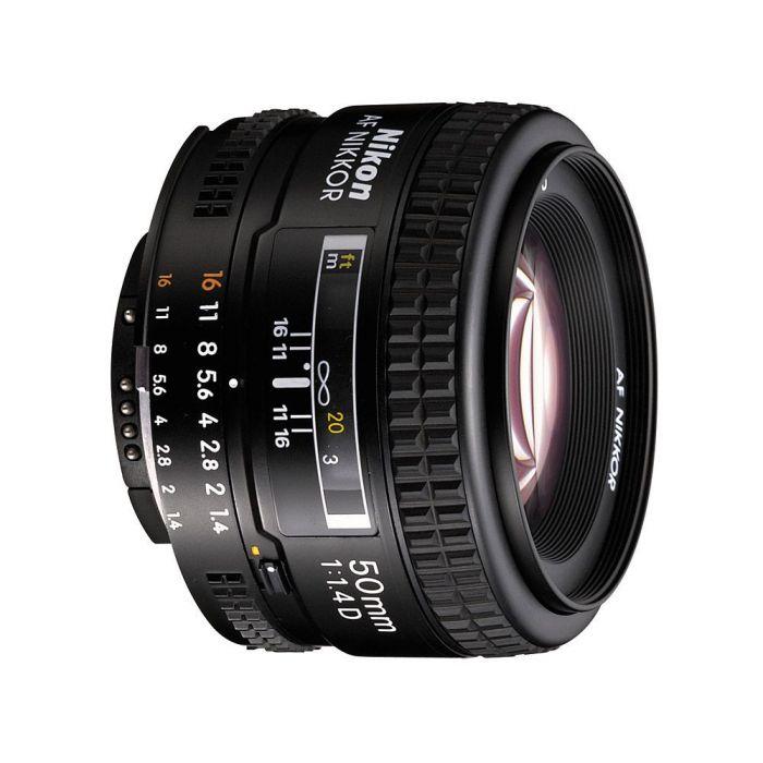 Obiettivo Nikon AF Nikkor 50mm f/1.4D Lens