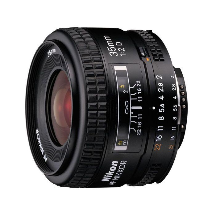 Obiettivo Nikon AF Nikkor 35mm f/2D Lens