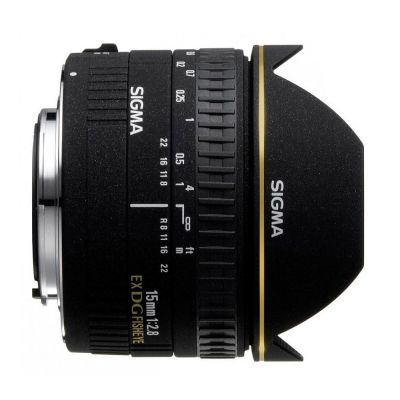 Obiettivo Sigma 15mm F2.8 EX DG DIAGONAL FISHEYE x Canon Lens