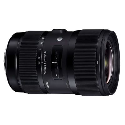 Obiettivo Sigma 18-35mm f/1.8 DC HSM Art x Nikon Lens 18-35