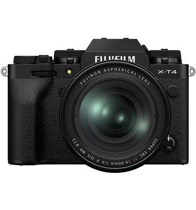 Fotocamera Mirrorless Fujifilm X-T4 kit 16-80mm F4 R OIS WR Nero