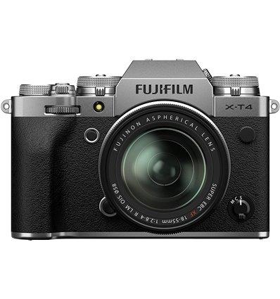 Fotocamera Mirrorless Fujifilm X-T4 kit 18-55mm F2.8-4 R LM OIS Silver