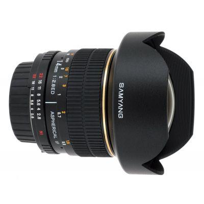 Obiettivo Samyang AE 14mm f/2.8 ED AS IF UMC Aspherical x Nikon Lens
