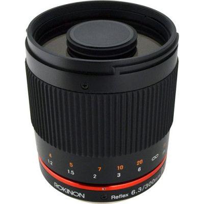 Obiettivo Samyang 300mm f/6.3 Mirror Lens Black x Canon Lens