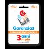 GARANZIA3 - Estensione di garanzia 3 anni in più con massimale di copertura a 2000 euro
