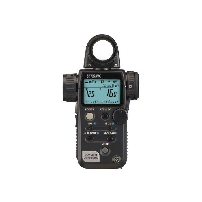 Sekonic L-758D Esposimetro Digital Master Light Meter