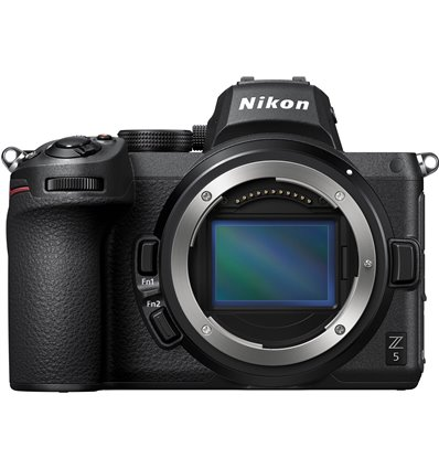 Fotocamera mirrorless Nikon Z5 body [MENU ENG] (no adattatore)