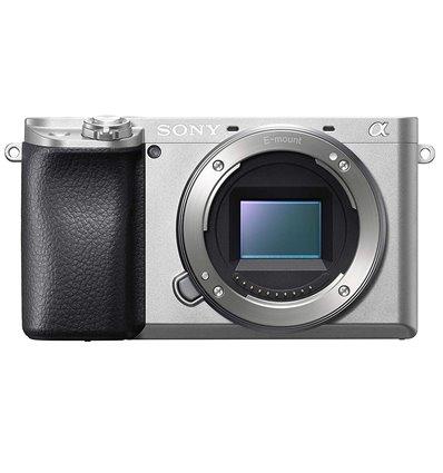 Fotocamera mirrorless Sony A6100 body silver [MENU ENG]